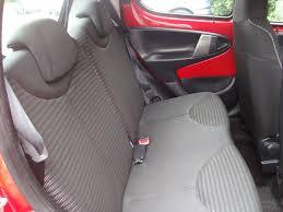 Peugeot 107 sæder